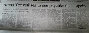A shit-stirring headline by Straits Times